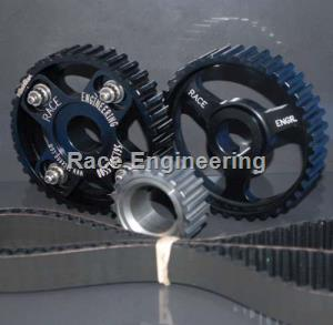 RACE ENGINEERING: FORD 2300 U/L 4 SPOKE ADJ. ROUND TOOTH SPROCKET KIT